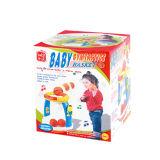 Пластичная музыкальная игра баскетбола младенца игрушки (H0001253)