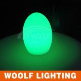 Indicatore luminoso esterno dell'uovo della lampada LED di figura dell'uovo del LED