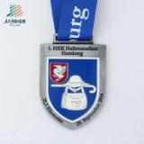 Il campione libero la medaglia d'argento di sport di Austrialia dello smalto della pressofusione