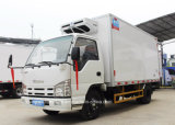 6 тележка грузовика Isuzu колес Refrigerated 100p 5 тонн фуры холодильника