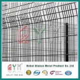 鋼鉄防御フェンスの刑務所および軍隊は358塀に反上る