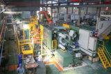 Das industrielle mechanische Aluminiumteil, das vorbei gebildet wird, Druckguß