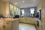 Gabinete de cozinha de madeira Yb1709098 da mobília da alta qualidade nova do projeto 2017