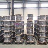 Boyau en caoutchouc hydraulique renforcé par textile de 1 pouce SAE100 R6