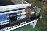 Macchina di legno del router di CNC di 4 assi con l'unità rotativa per la scultura dell'uomo