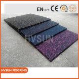 Fußboden-Fliese-Entwürfe mit den Shockproof und schalldichten Gummibodenbelag-Matten leicht speichern und installieren