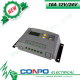 10A, 12V/24V, USB, LCD ZonneControlemechanisme