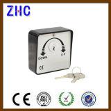 Elektrische Walzen-Tür-Aluminiumgußteil-Sicherheits-schlüsselbetriebener Schalter