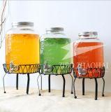 4L/5L dispensador de Bebidas Bebidas de vidro com água corrente por parte de Aço Inoxidável