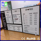 "Snap Frame LED Display Board를 가진 20 "" X30 "" Advertizing Light Box"