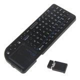 Миниая беспроволочная клавиатура разыгрыша Touchpad клавиатур 2.4G мыши воздуха клавиатуры Handheld для Android Smartphones коробки TV телефона франтовского