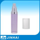 2016贅沢な紫色のアクリルのプラスチックローションポンプびんの毎日の化粧品