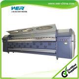 Impressora de solvente Banner Solvente de 10 pés de tamanho grande 8pcs Seiko Head