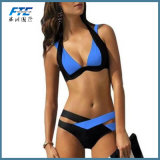 Spätester Form-Bikini-reizvoller Badeanzug zweiteilig