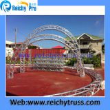 Curved Spigot Truss Aluminum of steam turbine and gas turbine systems Truss