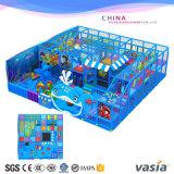Деталя спортивной площадки темы океана детей игрушка крытого мягкая