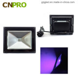 Migliori IP65 di vendita 385-400nm 10W impermeabilizzano l'indicatore luminoso di inondazione UV del LED