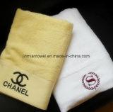 Недорогой гостинице маленький белый жаккард вышивка 100% хлопок рукой перед лицом полотенце