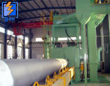 Qg interior/exterior del tubo de acero de granalla de acero de pared para quitar las escamas y escoria de soldadura