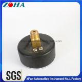 Medidores de pressão normais axiais com tubo de Bourdon Tin-Phosphor Bronze