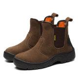 Ботинки безопасности Smash СРЕДНЕГО пальца ноги лодыжки стального анти- для работников