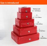 Heißer Verkaufs-Metallbargeld-Kasten, beweglicher Geld-Kasten