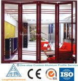 Windowsおよびドア木製アルミニウムWindowsのための木製アルミニウムプロフィール