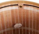 Forro extraíble de bambú de plegado del cilindro de obstaculizar el Servicio de lavandería