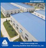 Struttura d'acciaio prefabbricata di norma ISO Con la trave per il workshop