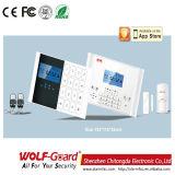 무선 GSM 지능적인 안전한 집 경보
