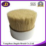Brosse ronde en soie douce blanche