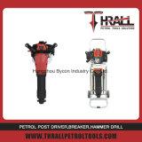 DGH-49 thrall de l'essence hard rock drilling machine avec 2 burins