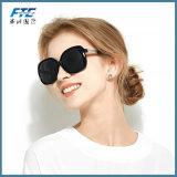 Glaces de Sun de cru du créateur 2017 ronds de luxe de marque de femmes d'hommes de lunettes de soleil rétro