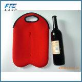 Refroidisseur de bouteille de sac de refroidisseur de vin de bouteille du néoprène deux