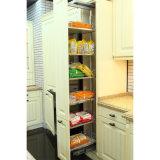 Мебель кухни лака новой конструкции Foshan самомоднейшая высокая лоснистая (BY-L-163)