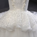 Qualität, die Nixe-Hochzeits-Kleid bördelt