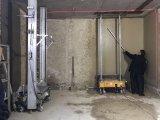 기계를 회반죽 자동적인 벽은 또는 기계 또는 자동 연출 기계장치를 만든다