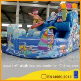 季節のInflatablke水スライド(AQ01565)をサーフする興味深いおもちゃ