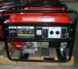 tipo de Protable do gerador da gasolina de 5.5KW Honda
