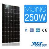 Comitato monocristallino di energia solare di alta efficienza 250W