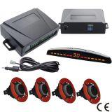 Neuer Ring-Vorderseite-Rückseiten-Fühler LED-Bildschirmanzeige-Auto-Parken-Fühler