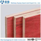 構築の型枠機能のための1220*2440*18mmの赤い合板