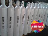 40L de cilindros de gás argônio com Válvulas
