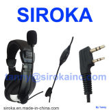 Walkie-talkie Earphone Headset per il Due-modo Radio