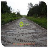 Tapis de la route Tomporary en polyéthylène