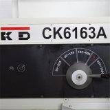 큰 구멍 CNC 절단 선반 Ck6163A