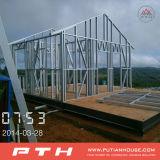 Estrutura de aço Luxury Villa House com Garagem