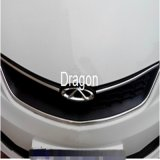 línea de tira de ajuste de la decoración del motor del coche que moldea 3D etiqueta engomada