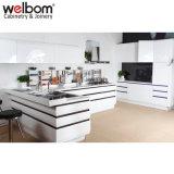 2015 Welbom Высокий Глянец Кухня с Кухонный Шкаф Двери и Верхнюю Панель (я КУХНЯ)