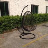 Гамак стула качания дешевой напольной рамки PE-Ротанга мебели сада синтетической алюминиевой сотка (YTA803)